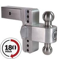 Weigh Safe Trailer Hitches - Weigh Safe 180 Adjustable Hitch Ball Mounts