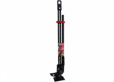 Hi-Lift - Hi-Lift Jack Special Edition Matte Black 48 Inch with Red Poly Handle Keeper MD-484