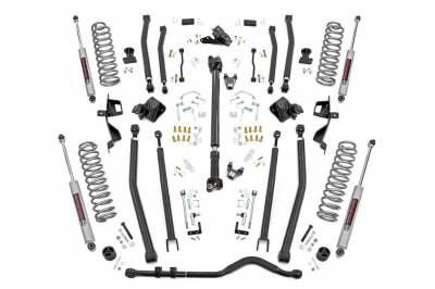 Rough Country - Rough Country Long Arm Suspension Lift Kit w/Shocks 66030