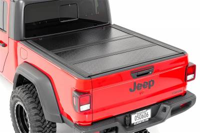 Rough Country - Rough Country Hard Tri-Fold Tonneau Bed Cover 47620500