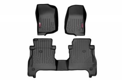 Rough Country - Rough Country Heavy Duty Floor Mats M-61501