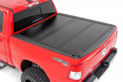 Rough Country - Rough Country Hard Tri-Fold Tonneau Bed Cover 47320550