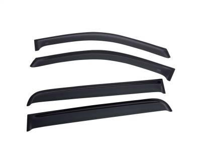EGR - EGR SlimLine In-Channel WindowVisors Set of 4 576001
