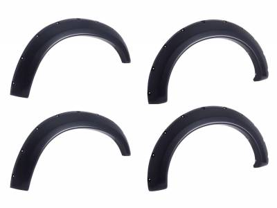 EGR - EGR Bolt-On look REDI-FIT Fender Flare Set of 4 791574RI