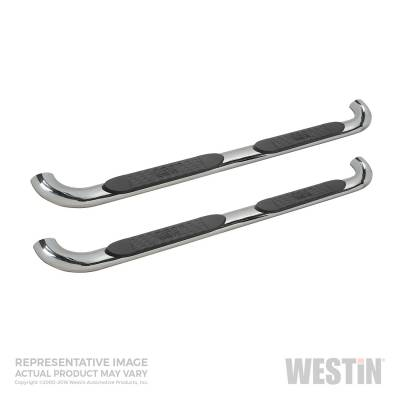 Westin - Westin Platinum 4 Oval Nerf Step Bars 21-4020