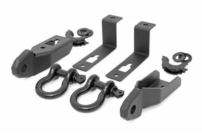 Rough Country - Rough Country Tow Hook To Shackle Conversion Kit RS152