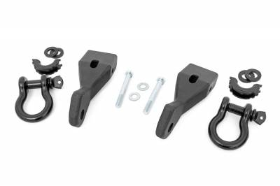 Rough Country - Rough Country Tow Hook To Shackle Conversion Kit RS156