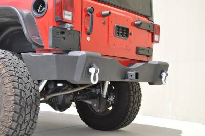 DV8 Off-Road - DV8 Off-Road  RS-5 Steel Rear Bumper - Jeep Wrangler JK (2007-2015)