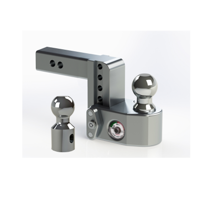 "Weigh Safe Trailer Hitches - Weigh Safe - Weigh Safe WS4-2 Drop Hitch Ball Mount - 2"" Shaft - 4"" Drop"