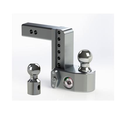 "Weigh Safe Trailer Hitches - Weigh Safe - Weigh Safe WS6-2 Drop Hitch Ball Mount - 2"" Shaft - 6"" Drop"
