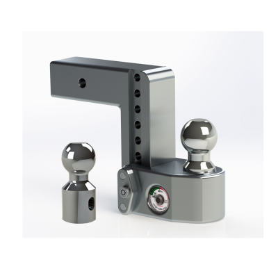 "Weigh Safe Trailer Hitches - Weigh Safe - Weigh Safe WS6-2.5 Drop Hitch Ball Mount - 2.5"" Shaft - 6"" Drop"