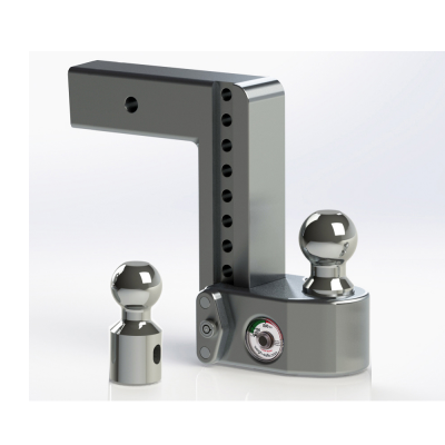 "Weigh Safe Trailer Hitches - Weigh Safe - Weigh Safe WS8-2.5 Drop Hitch Ball Mount - 2.5"" Shaft - 8"" Drop"