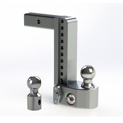 "Weigh Safe Trailer Hitches - Weigh Safe - Weigh Safe WS10-2 Drop Hitch Ball Mount - 2"" Shaft - 10"" Drop"