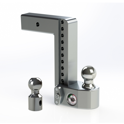 "Weigh Safe Trailer Hitches - Weigh Safe - Weigh Safe WS10-2.5 Drop Hitch Ball Mount - 2.5"" Shaft - 10"" Drop"