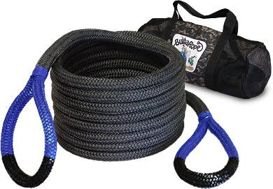 "Bubba Rope Recovery Ropes - Bubba Rope - Bubba Rope 176660BLG  Bubba  7/8"" x 20' Recovery Rope - 28,600 lbs. Breaking Strength"