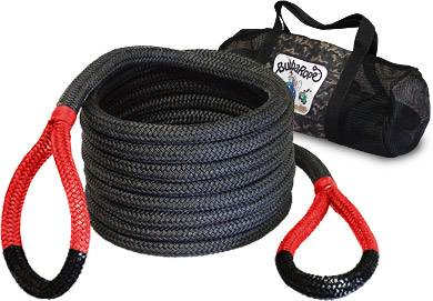 "Bubba Rope Recovery Ropes - Bubba Rope - Bubba Rope 176680RDG  Bubba  7/8"" x 30' Recovery Rope - 28,600 lbs. Breaking Strength"