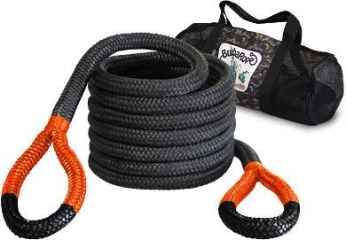 "Bubba Rope Recovery Ropes - Bubba Rope - Bubba Rope 176720ORG Big Bubba  1 1/4"" x 30' Recovery Rope - 52,300 lbs. Breaking Strength"