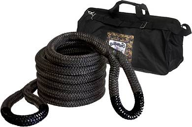 "Bubba Rope Recovery Ropes - Bubba Rope - Bubba Rope 176750BKG Extreme Bubba  2"" x 30' Recovery Rope - 131,500 lbs. Breaking Strength"
