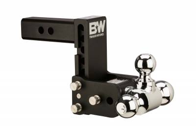 """B&W Towing Products - Tow & Stow™ - Receiver Hitch - B and W Towing Products - B&W TS20049B - Tow and Stow Hitch Ball Mount *2.5"""" SHANK"""" - 7"""" Drop 7 1/2"""" Rise - 2"""" x 1 7/18"""" x 2 5/16"""""""