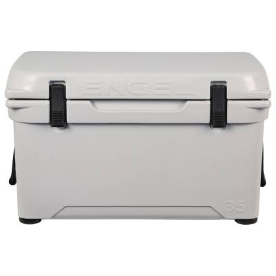 Engel Coolers - Engel Eng35-G DeepBlue Performance Cooler - Haze Grey - 35QT