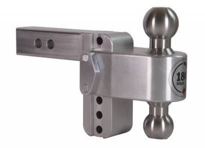 "Weigh Safe Trailer Hitches - Weigh Safe - Weigh Safe TB4-2 Adjustable Hitch Ball Mount  4"" Drop - 2"" Shaft"