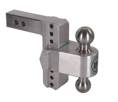 "Weigh Safe Trailer Hitches - Weigh Safe - Weigh Safe TB6-2 Adjustable Hitch Ball Mount  6"" Drop - 2"" Shaft"
