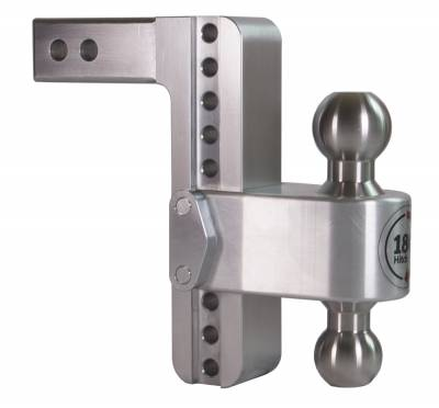 "Weigh Safe Trailer Hitches - Weigh Safe - Weigh Safe TB8-2 Adjustable Hitch Ball Mount  8"" Drop - 2"" Shaft"