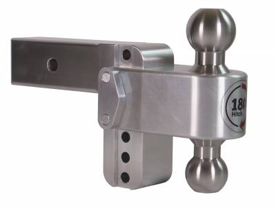 "Weigh Safe Trailer Hitches - Weigh Safe - Weigh Safe TB4-2.5 Adjustable Hitch Ball Mount  4"" Drop - 2.5"" Shaft"