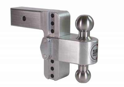 "Weigh Safe Trailer Hitches - Weigh Safe - Weigh Safe TB6-2.5 Adjustable Hitch Ball Mount  6"" Drop - 2.5"" Shaft"