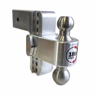 "Weigh Safe Trailer Hitches - Weigh Safe - Weigh Safe TB6-3 Adjustable Hitch Ball Mount  6"" Drop - 3"" Shaft"
