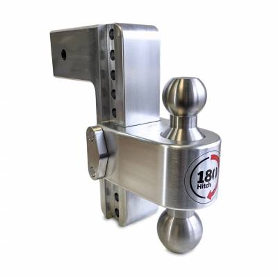 "Weigh Safe Trailer Hitches - Weigh Safe - Weigh Safe TB8-3 Adjustable Hitch Ball Mount  8"" Drop - 3"" Shaft"