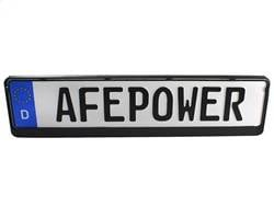 License Plate Accessories - License Plate - aFe Power - aFe Power aFe Power License Plate 40-10135