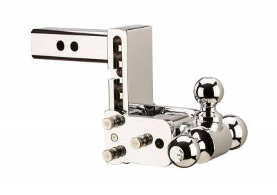 """B and W Towing Products - *OPEN BOX* B&W TS10048C - Tow and Stow Hitch Ball Mount Model 8 CHROME - 5"""" Drop 5 1/2"""" Rise - 1 7/8"""" x 2"""" x 2 5/16"""""""