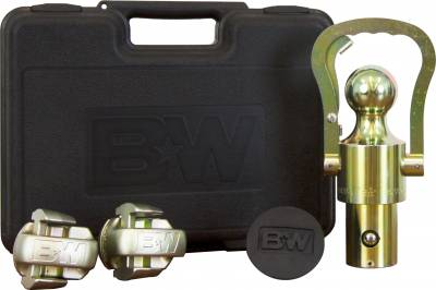 B and W Towing Products - B&W OEM Ball and Safety Chain Kit for GM / Ford / Nissan Trucks  GNXA2061 - Image 1