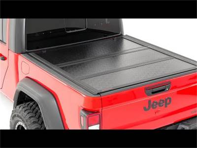 Rough Country - Rough Country Hard Tri-Fold Tonneau Bed Cover 47620500 - Image 4