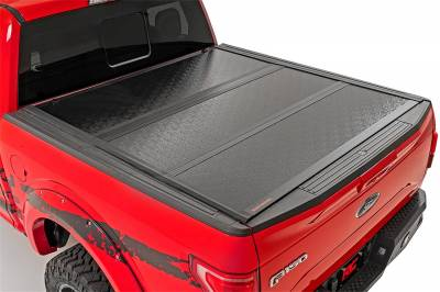Rough Country - Rough Country Hard Tri-Fold Tonneau Bed Cover 47113550 - Image 2