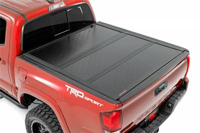 Rough Country - Rough Country Hard Tri-Fold Tonneau Bed Cover 47420500 - Image 4