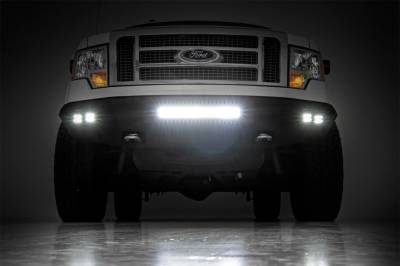 Rough Country - Rough Country Heavy Duty Front LED Bumper 10767 - Image 4