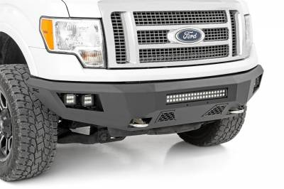 Rough Country - Rough Country Heavy Duty Front LED Bumper 10767 - Image 1