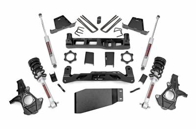 Rough Country - Rough Country Suspension Lift Kit w/Shocks 23633 - Image 1