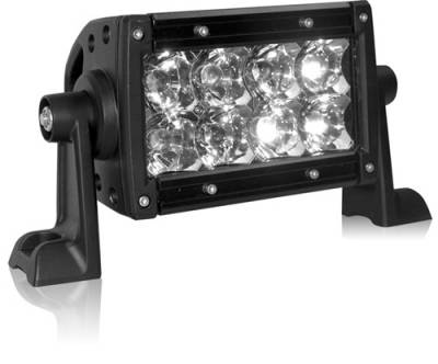 "Fog/Driving Lights and Components - Offroad/Racing Lamp Kit - Rigid - Rigid Industries E Series 4"" LED Lightbar - Flood Pattern"