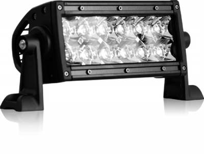 "Fog/Driving Lights and Components - Offroad/Racing Lamp Kit - Rigid - Rigid Industries E Series 6"" LED Lightbar - Spot Pattern"