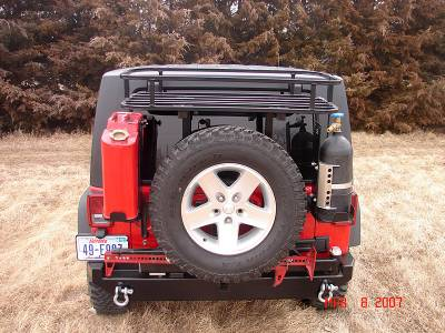Rock Hard 4x4 Parts - Rock Hard 4x4 Parts RH2004 Rock Rack - Jeep JK