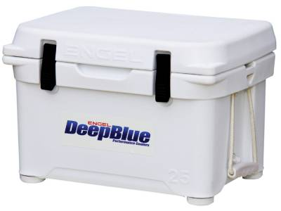Engel Coolers - Engel Eng25 DeepBlue Performance Cooler - White - 25QT