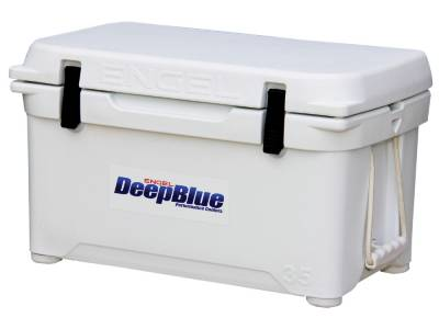 Engel Coolers - Engel Eng35 DeepBlue Performance Cooler - White - 35QT