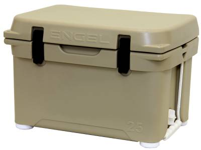 Engel Coolers - Engel Eng25-T DeepBlue Performance Cooler - Tan - 25QT