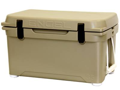 Engel Coolers - Engel Eng35-T DeepBlue Performance Cooler - Tan - 35QT