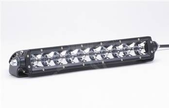 "Fog/Driving Lights and Components - Offroad/Racing Lamp Kit - Rigid - Rigid Industries SR Series - 91011 -  10"" LED Lightbar - Flood Pattern - White"