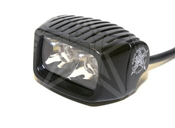Fog/Driving Lights and Components - Offroad/Racing Lamp Kit - Rigid -  Rigid Industries SR-M - 90221 - LED Light - Spot Pattern - White