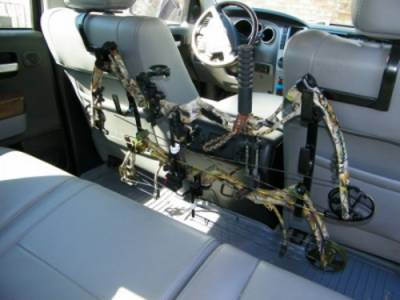 Miller - Miller - 231-3 - Ultra Full Size Truck Seat Rack Headrest 3 Gun and Bow Holder - Image 2